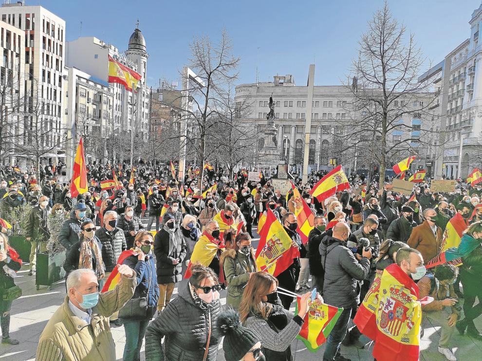 "Lambán defiende España como un ""gran proyecto común"""