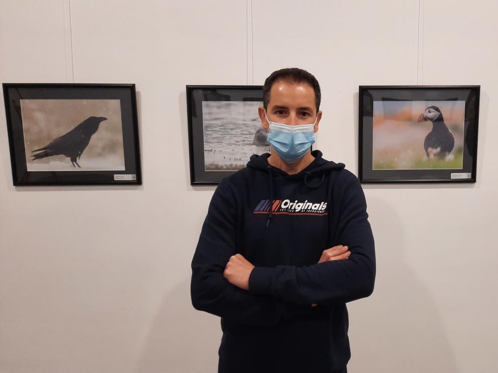 David Arbués exhibe en Graus su relación con la naturaleza