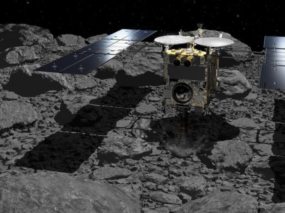 Una cápsula espacial trae pistas sobre la creación del Sistema Solar