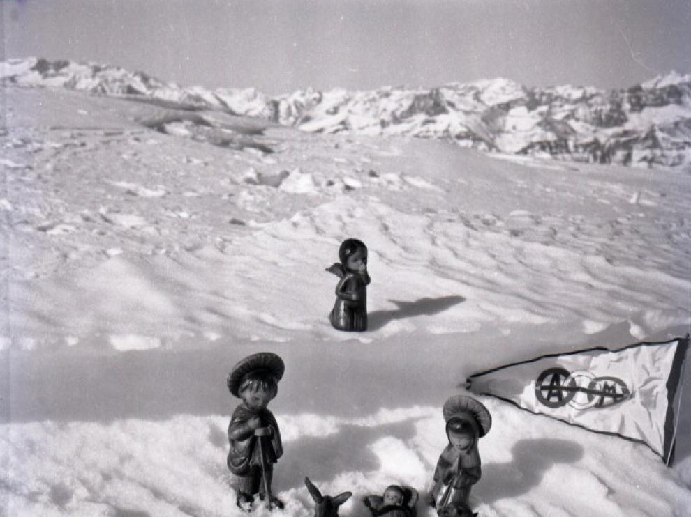 La pandemia rompe 50 años de tradición del belén montañero