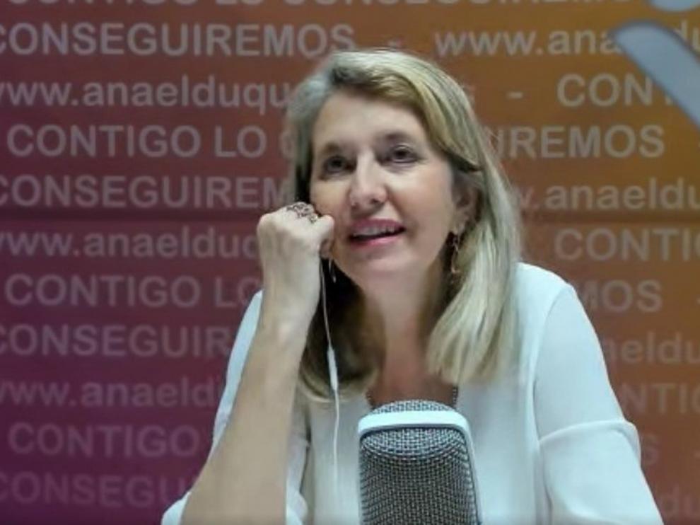 """Ana Elduque pide """"dar una oportunidad al cambio"""" en la Universidad"""