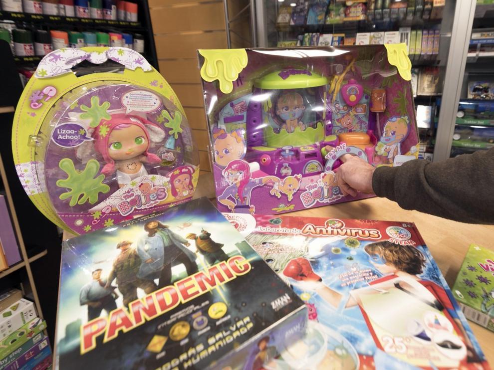 La pandemia de la covid también se cuela en los juguetes de Navidad