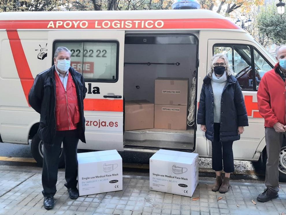 La Delegación del Gobierno en Aragón distribuye más de 960.000 mascarillas para los colectivos vulnerables