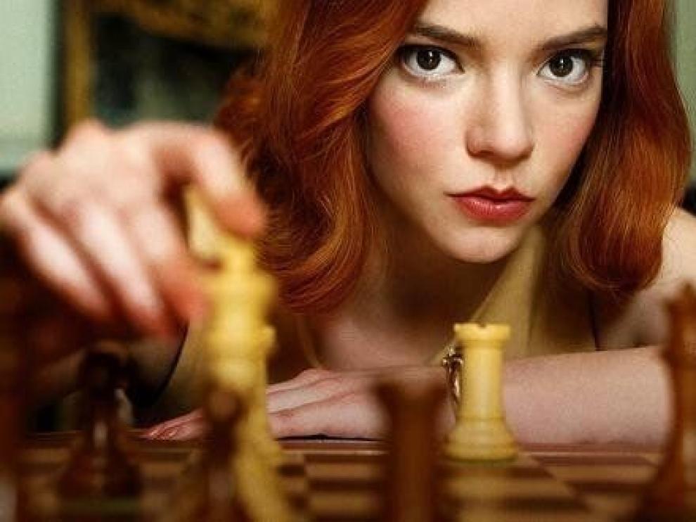 """""""Gambito de dama"""" es ya la miniserie más vista de Netflix"""