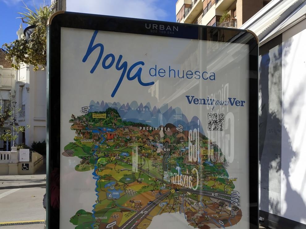 La Comarca de la Hoya edita un nuevo mapa ilustrado con recursos turísticos