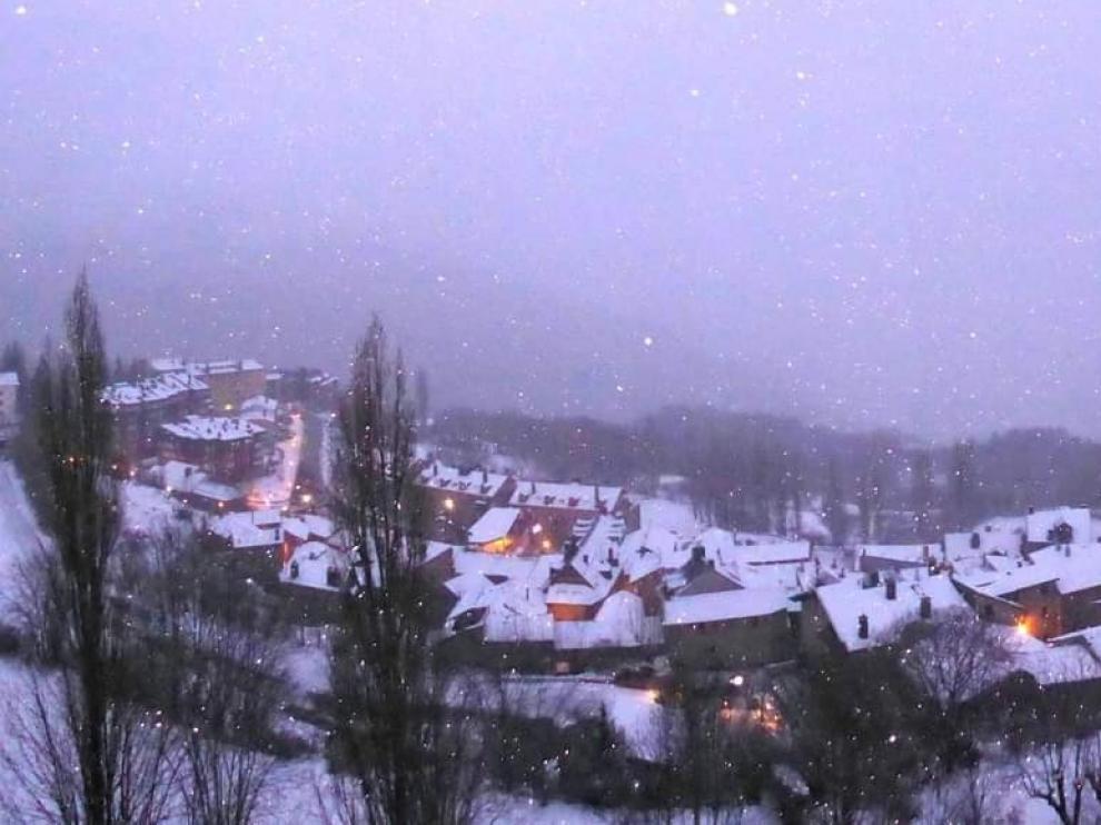 La tercera temperatura más baja del país, en Cerler