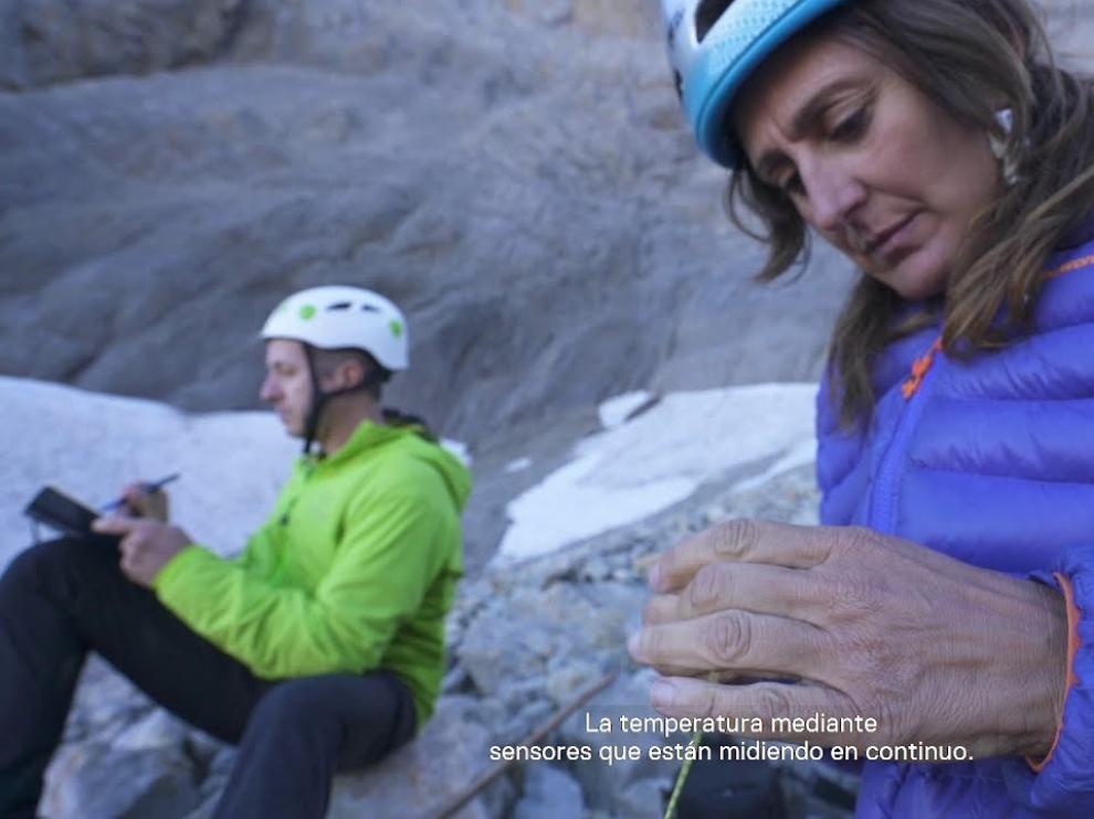Bodega Viñas del Vero colabora en el estudio del glaciar rocoso de Cotiella