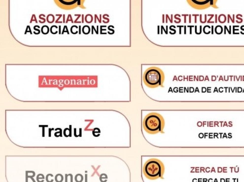 El Gobierno de Aragón impulsa una aplicación para difundir la riqueza lingüística del aragonés