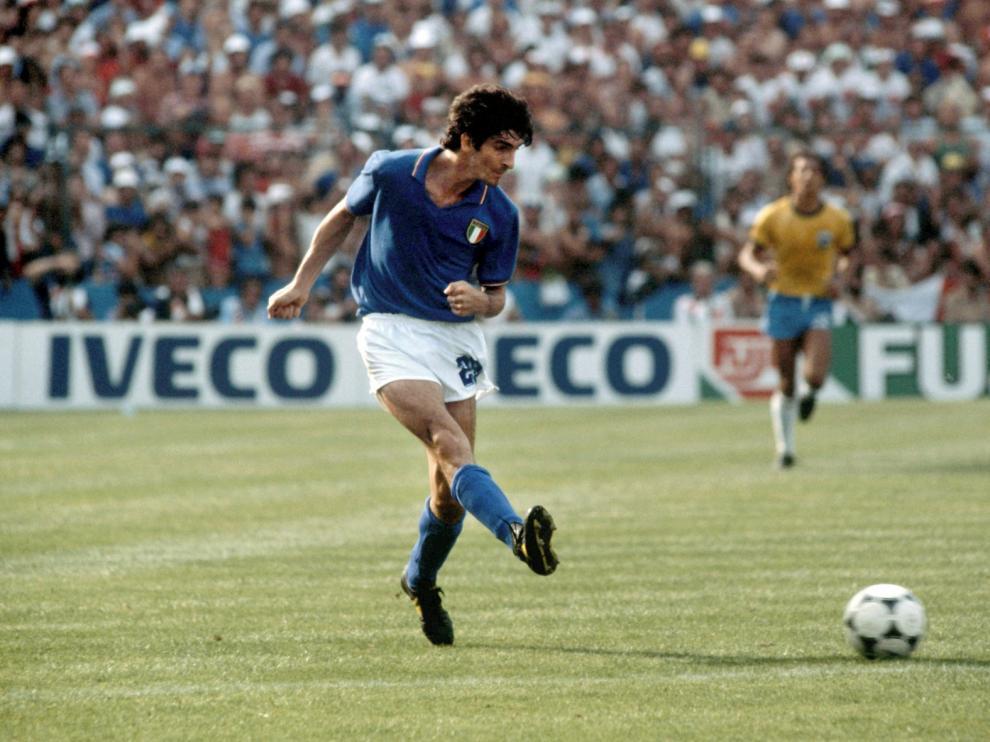 """Adiós a Paolo Rossi, el héroe del Mundial""""82"""