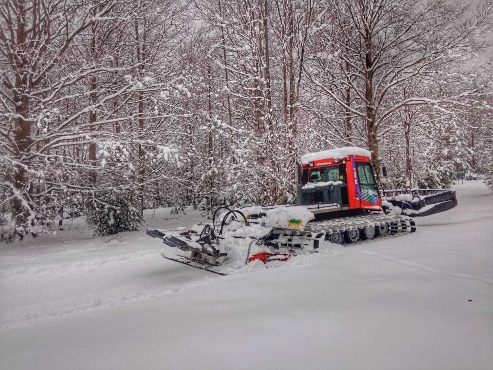 Tres espacios nórdicos del Pirineo estrenan este sábado la nueva temporada invernal