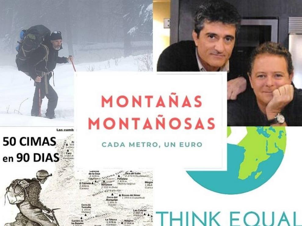 La Fundación Gomaespuma y Javier Campos subirán al Aneto en una nueva iniciativa solidaria