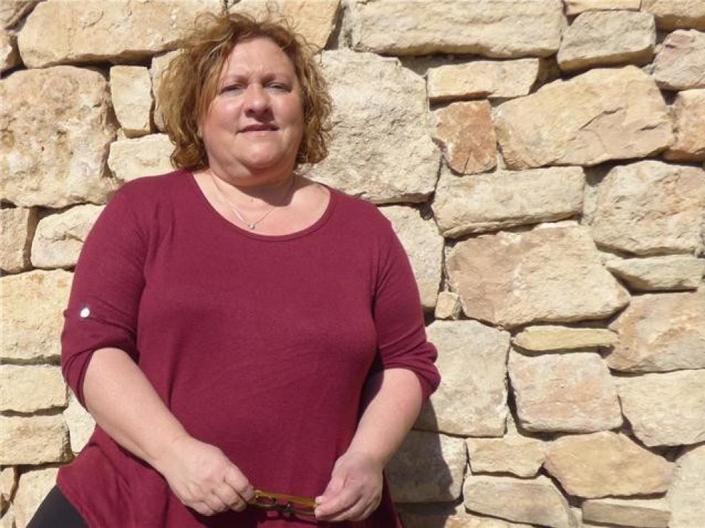 """Ana Blasco, emprendedora rural en Alquézar: """"Aquí vivimos dos veces, pero tienes que buscarte la vida en todo"""""""