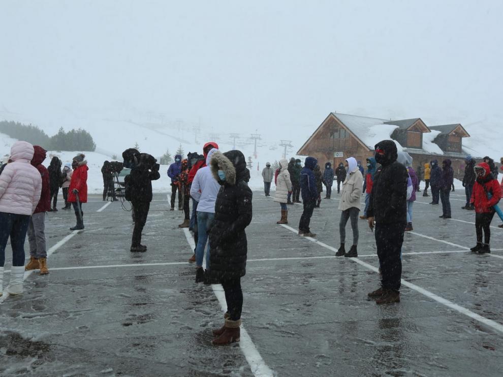"""Reclaman ayudas para el esquí y piden que se consideren las zonas de montaña áreas """"especialmente afectadas"""""""