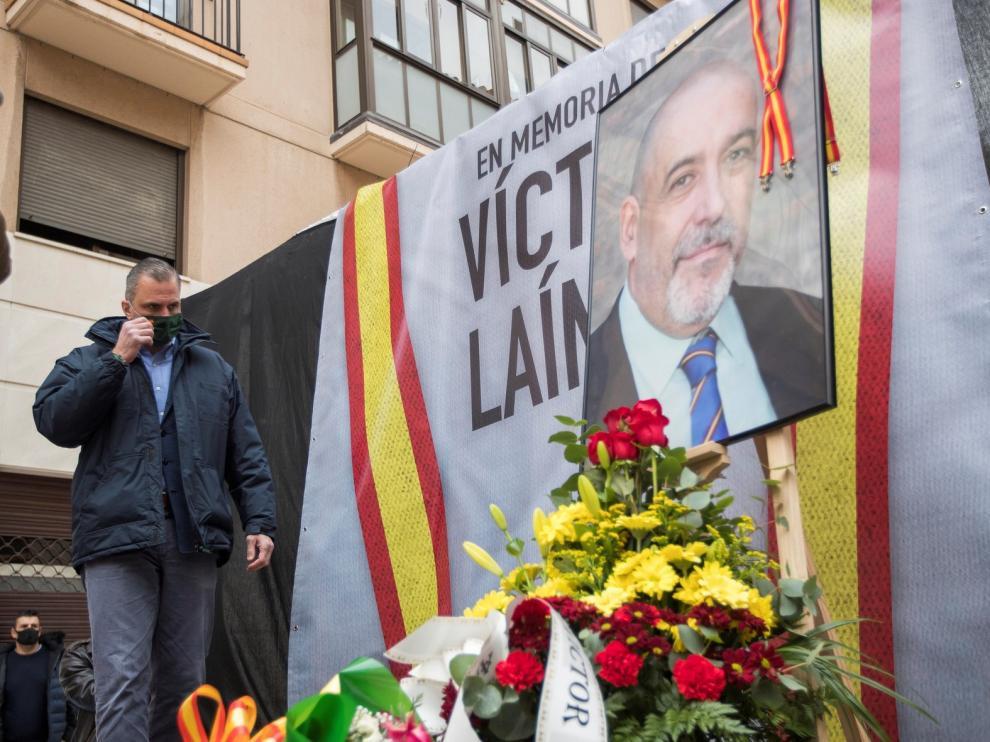 Homenaje a Víctor Laínez a los tres años de su muerte
