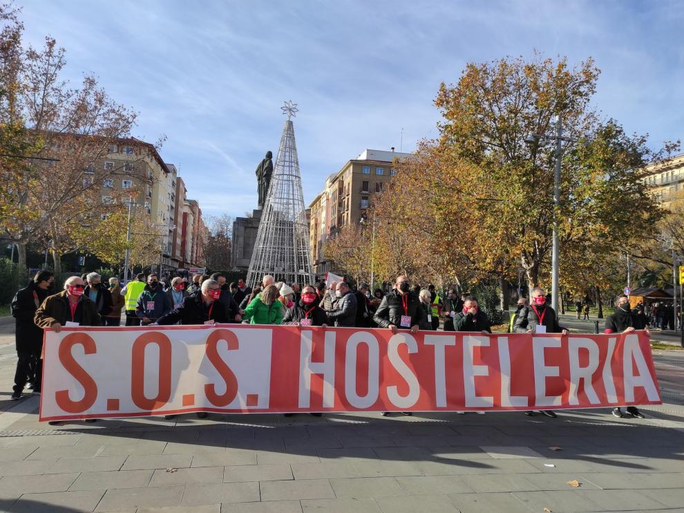 La hostelería reclama en Zaragoza ayudas ante el miedo a volver a cerrar