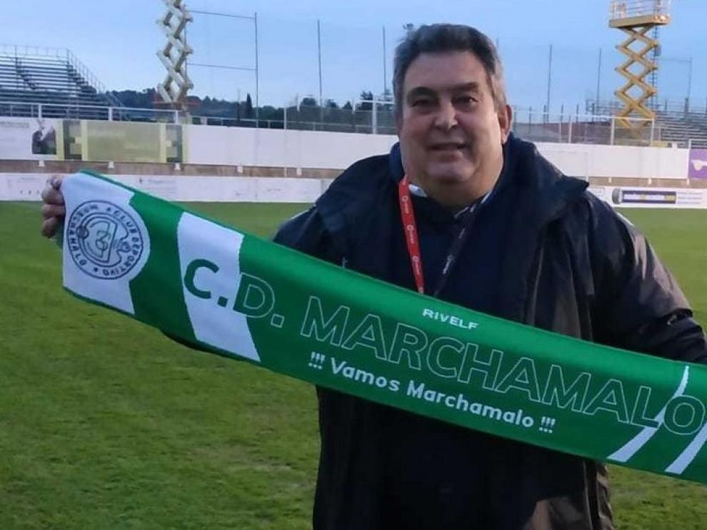 """Juan Antonio del Castillo: """"Nuestro premio gordo es jugar contra el Huesca"""""""