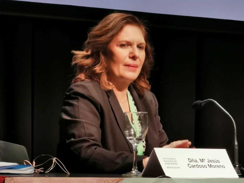 """María Jesús Cardoso: """"Estamos ante un cuidador que debería estar siendo cuidado"""""""