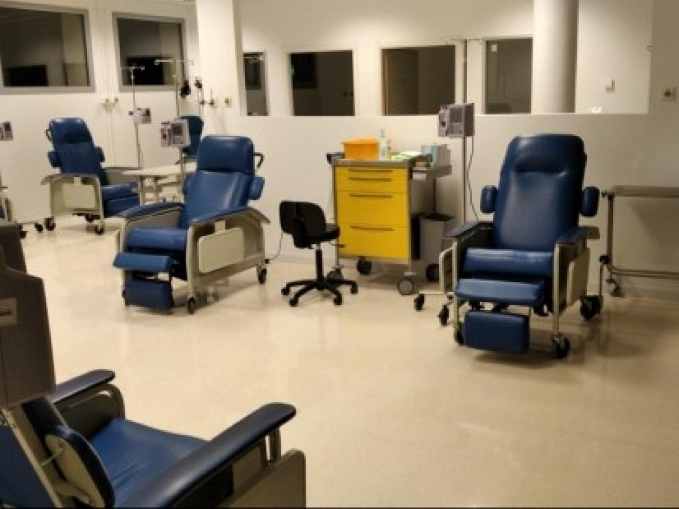 Un renovado Hospital de Día atenderá a los pacientes oncohematológicos del sector de Barbastro