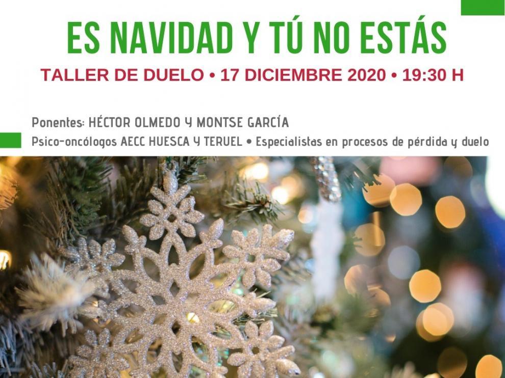 """""""Es Navidad y tú no estás"""", un taller para afrontar el recuerdo de las personas que han fallecido recientemente"""