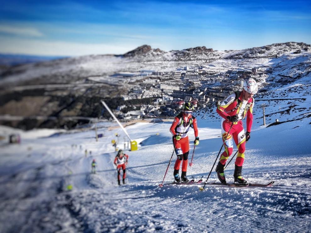 Los deportistas aragoneses suman cinco podios en la primera prueba de la Copa de España de esquí de montaña
