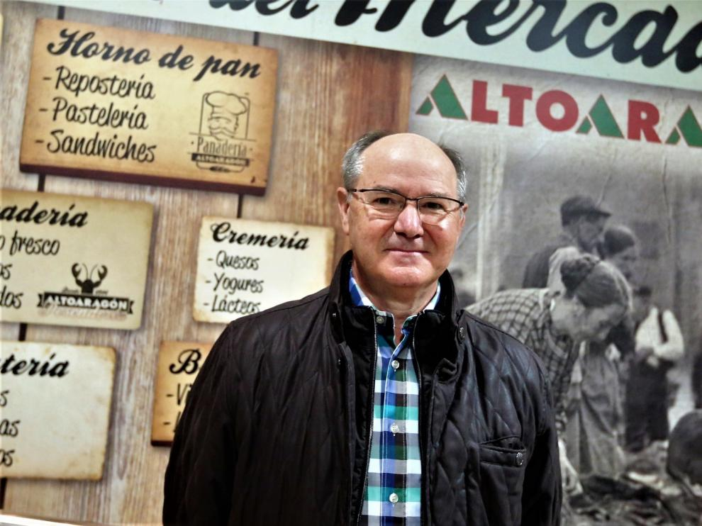 """Francisco Tolosana Oliva: """"Lo importante es que ahora la gente va a comprar al barrio"""""""