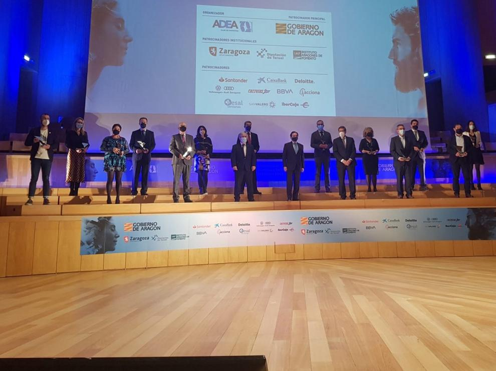 Marta Balaguer logra el premio Adea al Directivo de Huesca