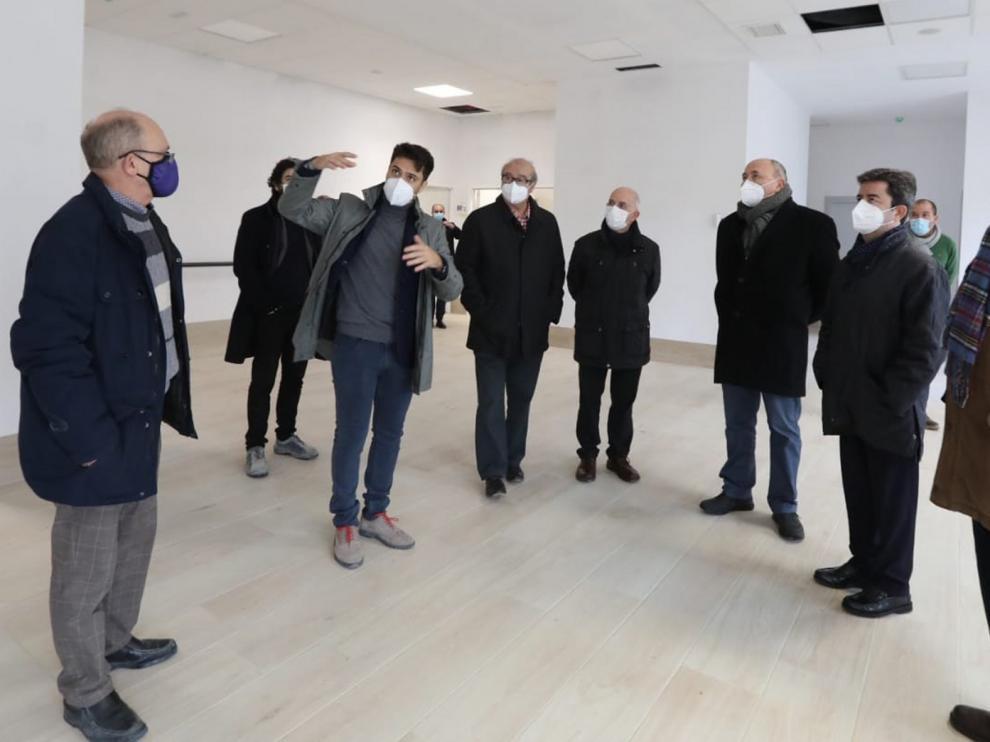 La residencia de la Rey Ardid en Huesca prevé abrir en el primer trimestre de 2021