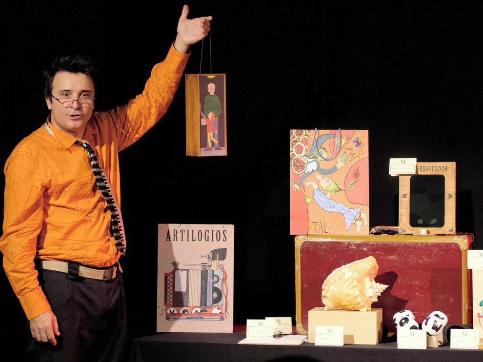 """Oswaldo Felipe: """"La base del espectáculo es el equilibrio entre las letras y las ciencias"""""""