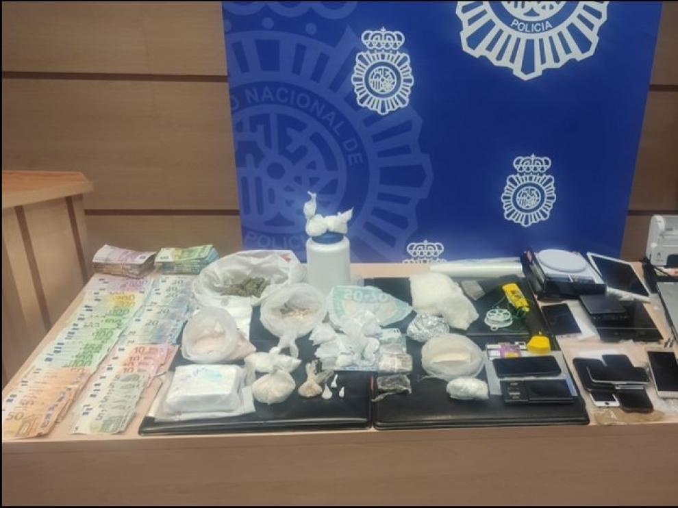 Desarticulada una organización criminal por presunto tráfico de droga en Huesca, Lérida y Tarragona