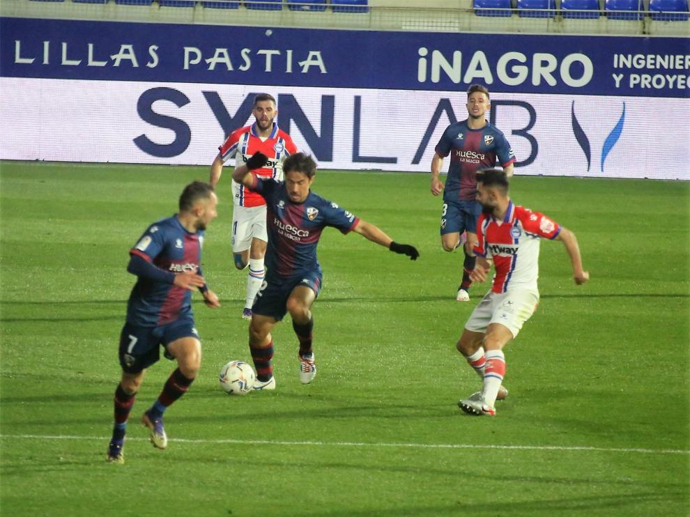 El Huesca, a por la tercera victoria seguida