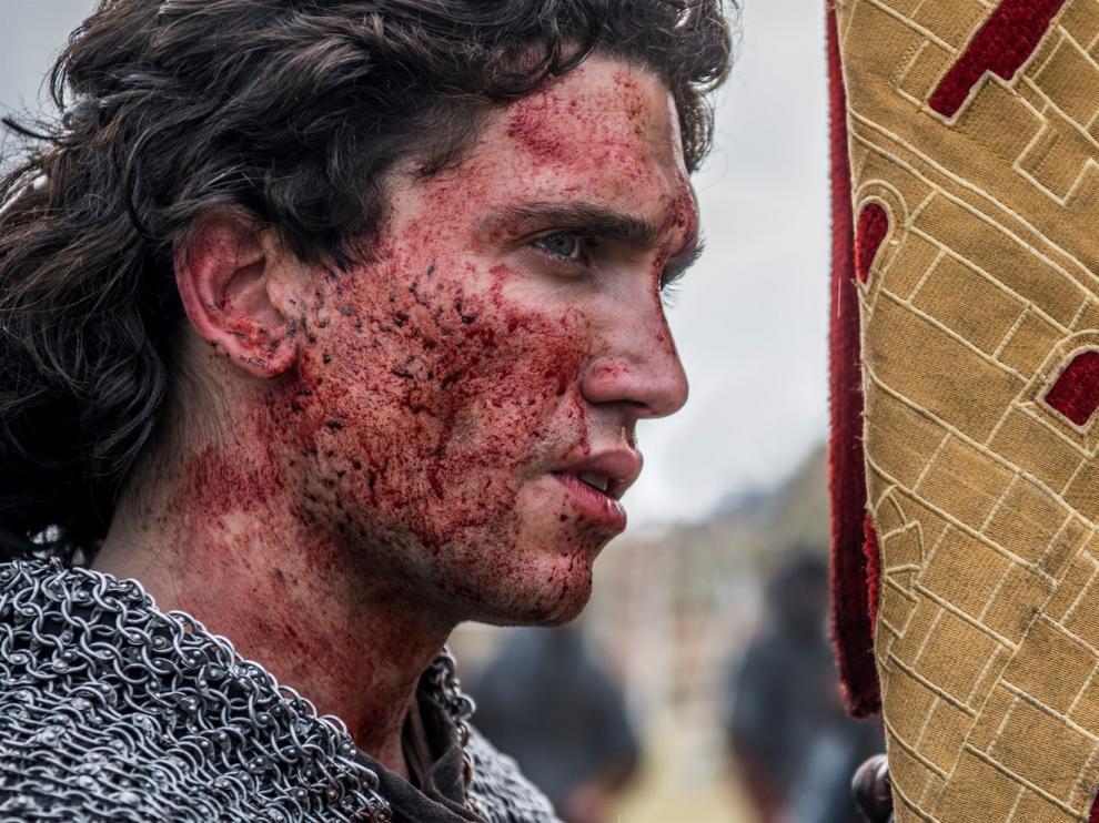 """Lorente busca """"dar valor al ser humano"""" en la serie del Cid"""