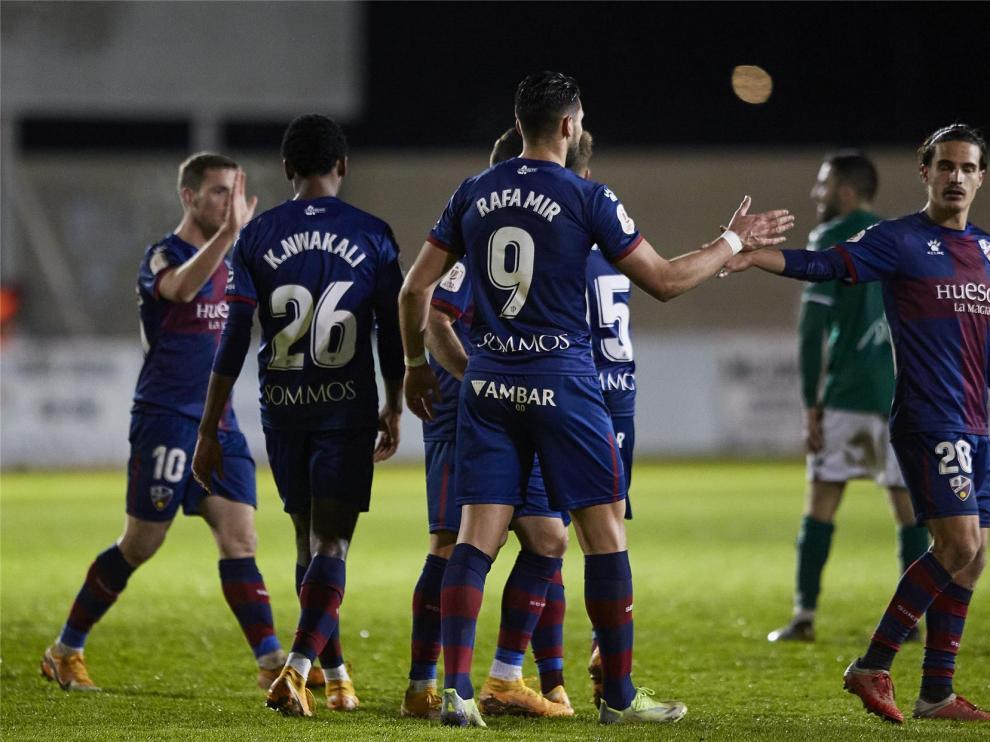 El Huesca jugará en Alcoy en Copa del Rey