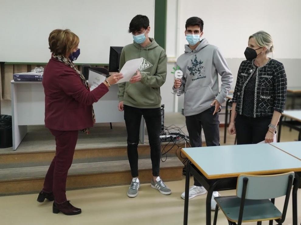 Estudiantes de Dirección de Empresas del Campus de Huesca reciben el premio SIE 2020 por sus propuestas de emprendimiento