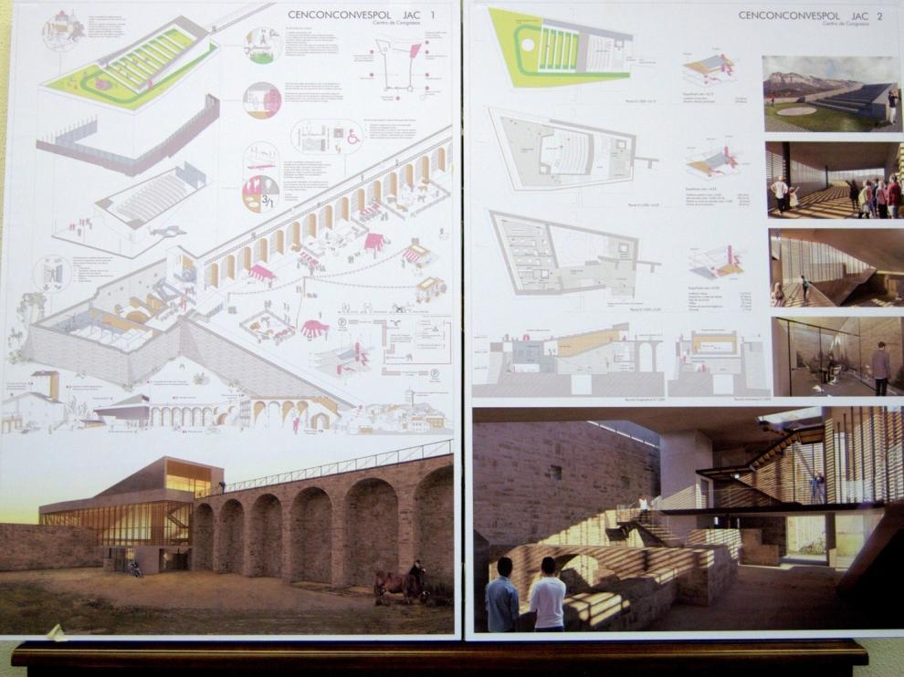 El concurso para construir el Palacio de Congresos de Aínsa ya tiene un ganador