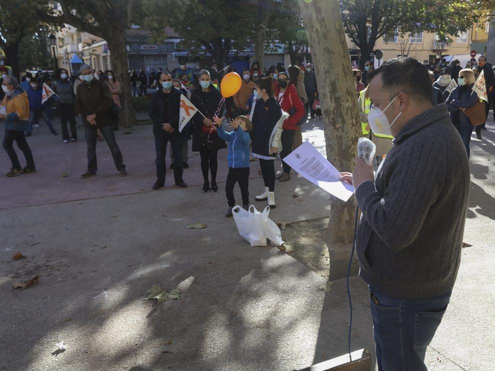 Ciudadanos Aragón participa en las manifestaciones en apoyo a la escuela concertada en Zaragoza, Huesca y Teruel