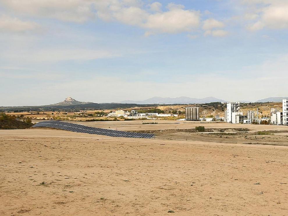 La mayor central solar para el autoconsumo, en Barbastro