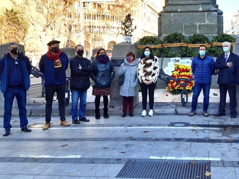 El Justicia de Aragón rinde homenaje a Juan de Lanuza