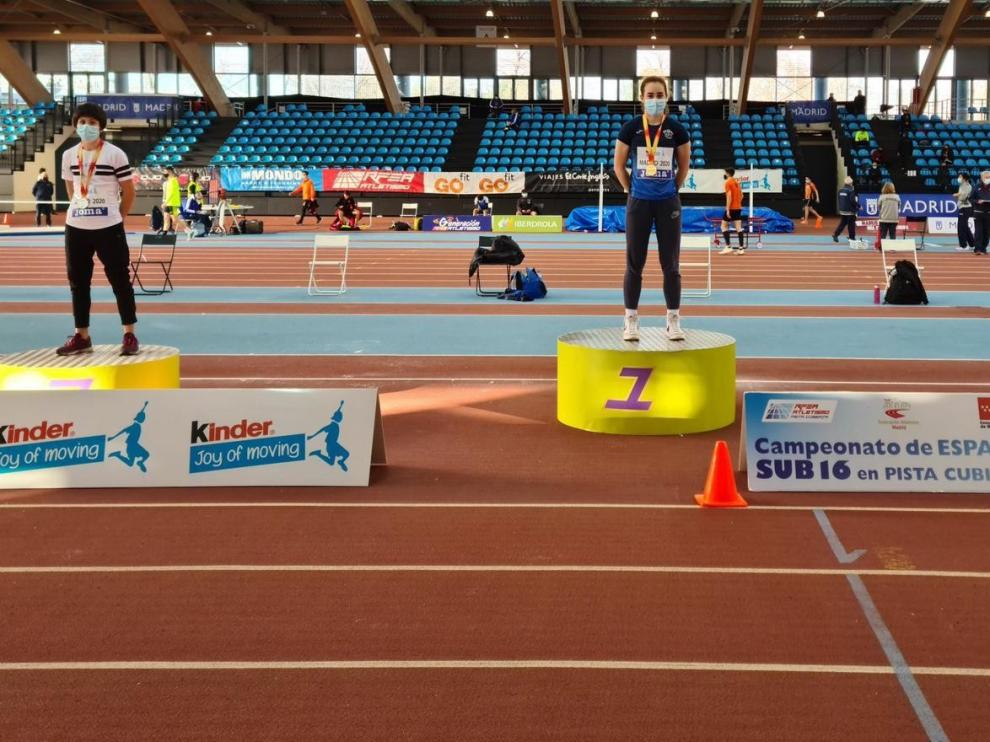 Un gran bronce en atletismo para Valeria Ortiz