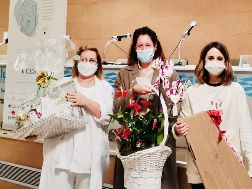 Corazón patalero entrega los premios en reconocimiento de los sanitarios de Huesca