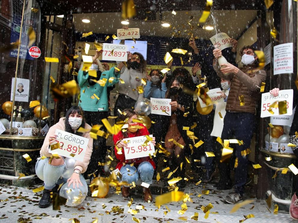 El sorteo de Navidad 2020 reparte millones por toda España, marcado por las medidas de seguridad