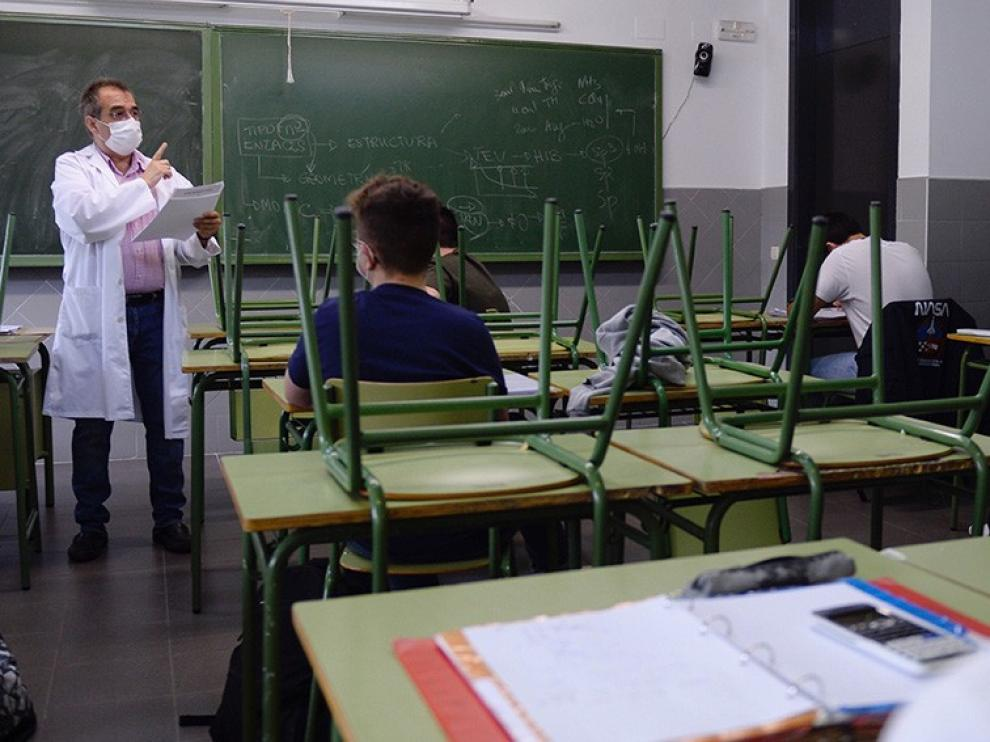 Docentes afirman que la vuelta a clase en la provincia de Huesca no será segura