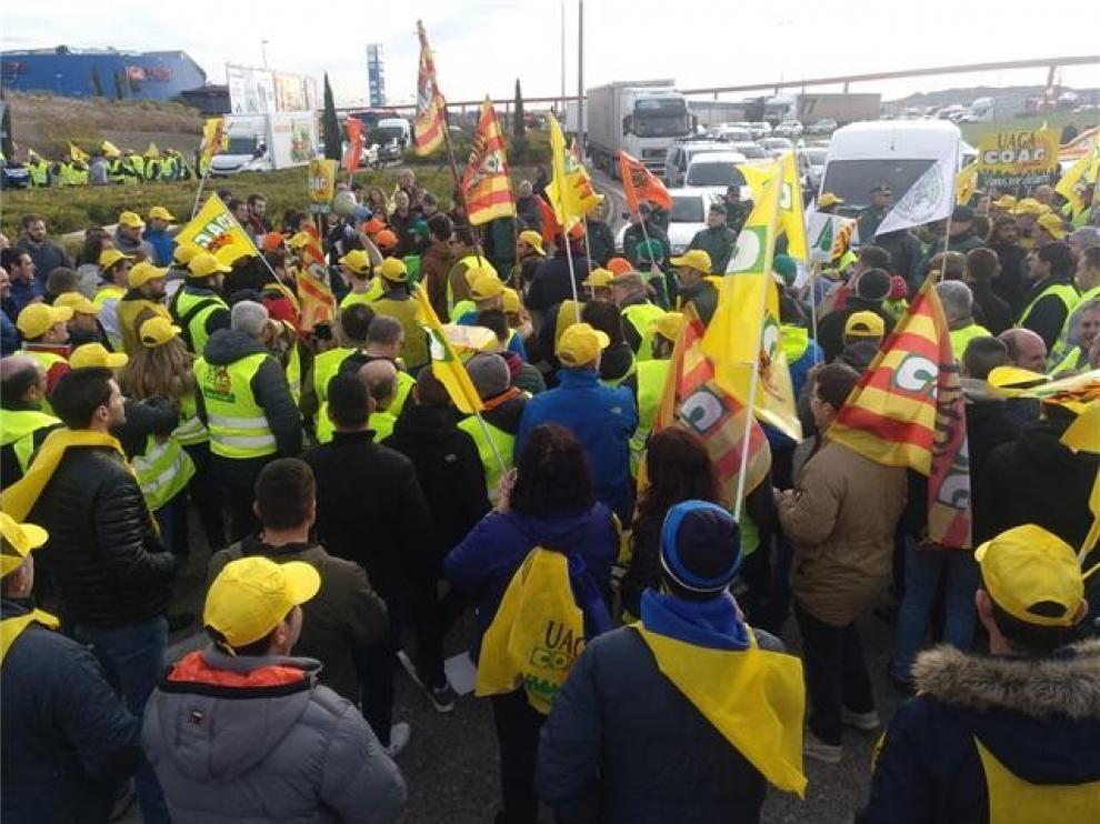 Los jóvenes de Uaga se movilizarán el 28 de diciembre en Zaragoza
