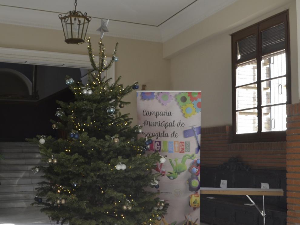 El Ayuntamiento de Barbastro pone en marcha una campaña de recogida de juguetes y alimentos
