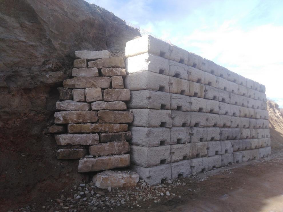 La DGA aplica medidas para la conservación del yacimiento arqueológico de Barbastro