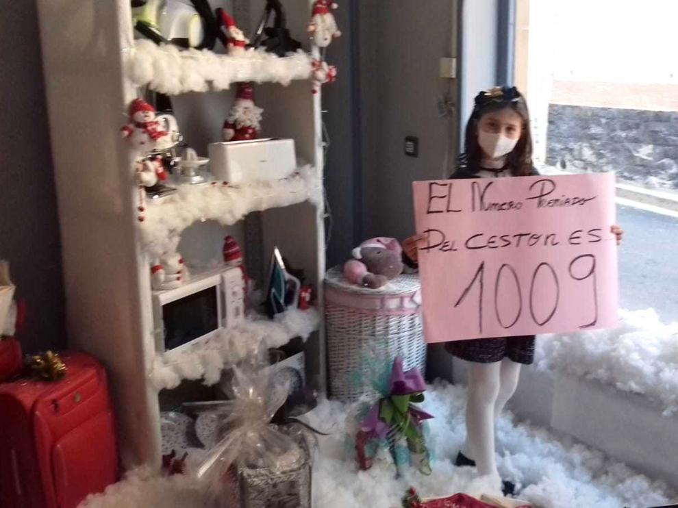 La gran cesta navideña de Almudévar recae en Alcalá