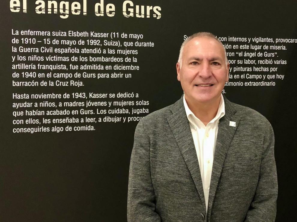 """Fernando Yarza: """"Poder ser un eslabón más de la Historia, un activista ante el olvido"""""""