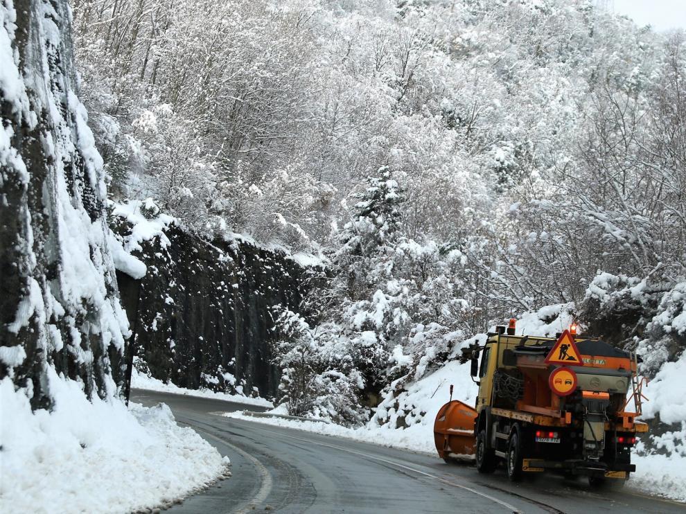 Riesgo de temperaturas bajas hoy en la provincia y nieve en el Pirineo