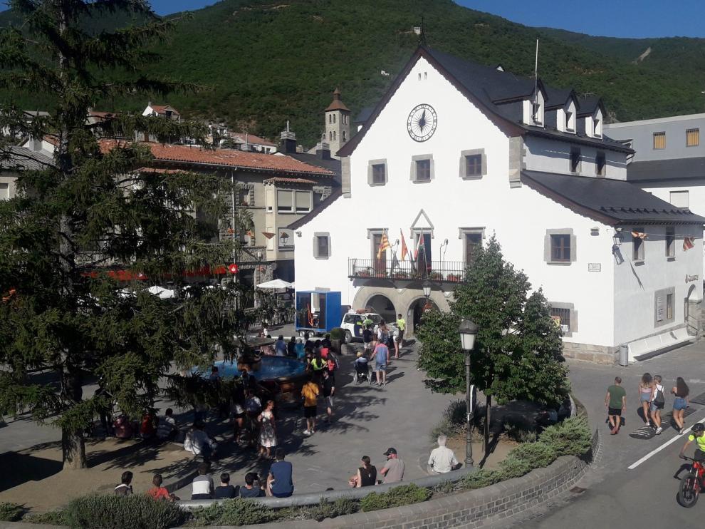 El Ayuntamiento de Biescas ofrece ayudas covid de hasta 600 euros