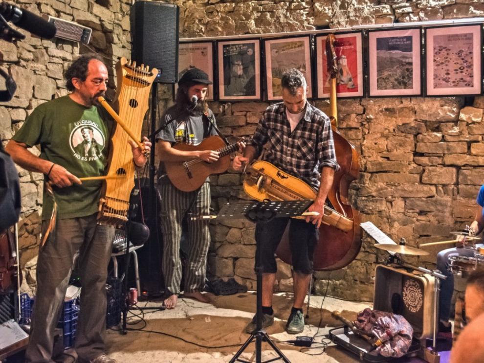 La Orquestina del Fabirol pone música al viaje de Pedro Saputo