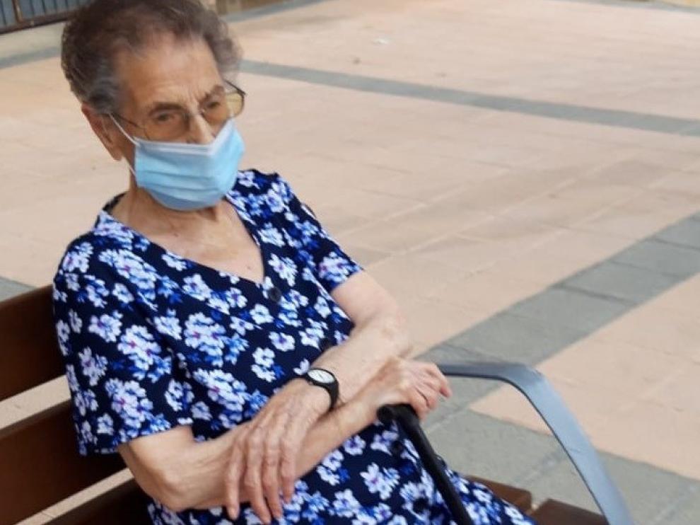 Fallece Encarna Náger: la abuela más longeva de la provincia de Huesca, que jugaba con la tablet